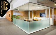 دکوراسیون مدرن ساختمان با انواع درب اتوماتیک و پارتیشن شیشهای
