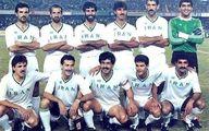 عکسی قدیمی از فوتبالیست های ایرانی