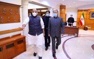 گزارش توییتری وزیر دفاع هند از دیدارش با امیرحاتمی