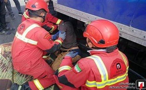آتشنشانهایی که دیروز با نجات ۲ کودک خبرساز شدند