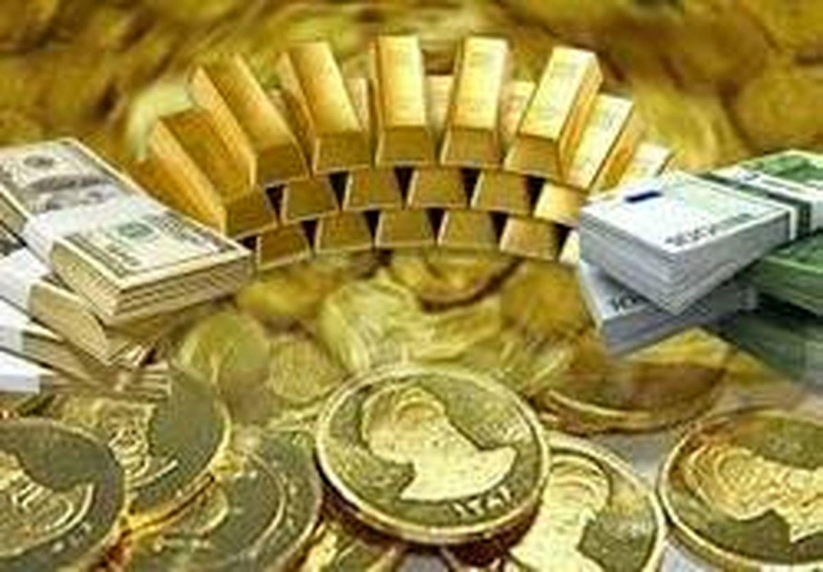 آخرین قیمت سکه، طلا و دلار تا ساعت ۱۴:۴۰