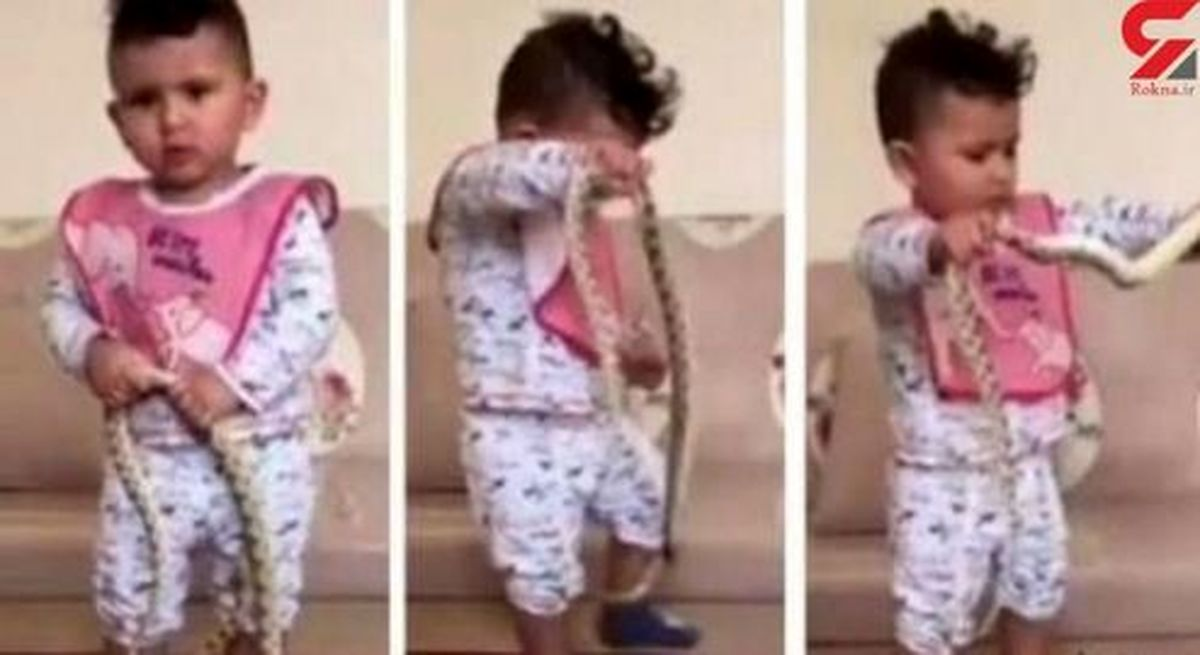 کار زشت یک پدر با فرزندش جنجالی شد +عکس