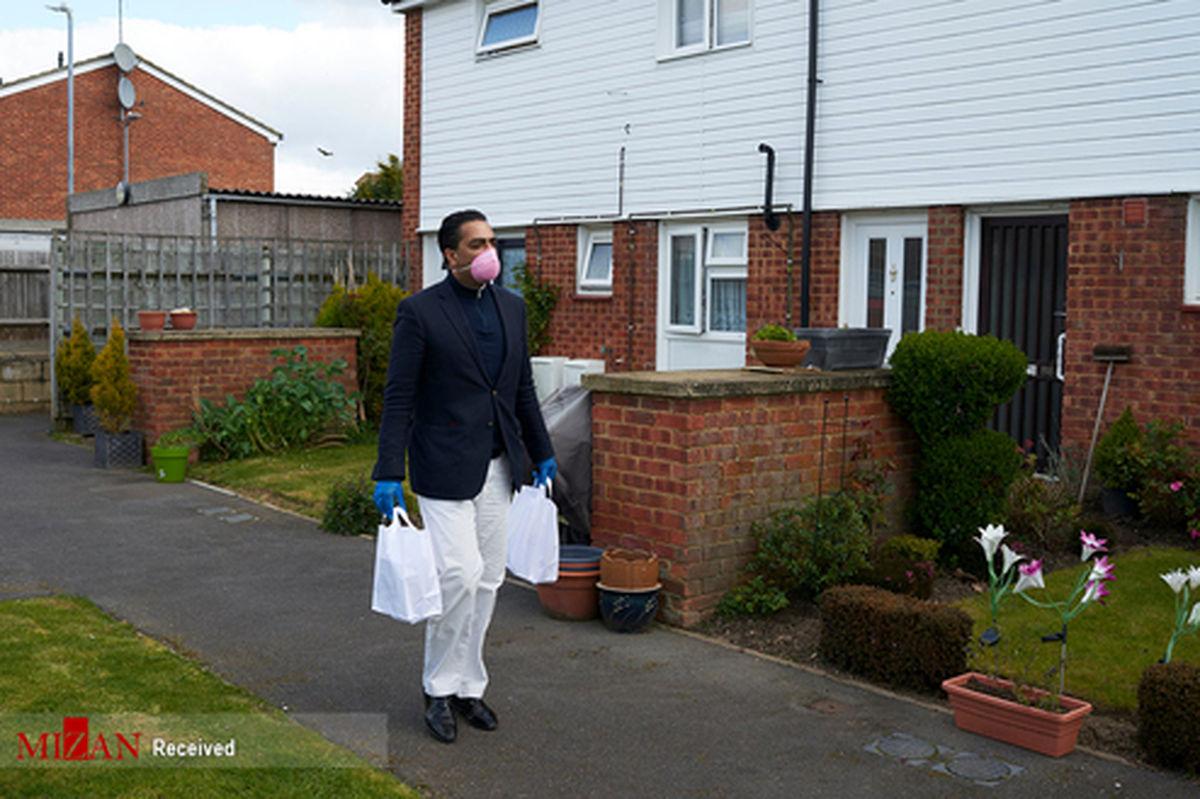 تصاویر: انگلستان در قرنطینه