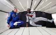 تمرینات فوتبالیست معروف همانند یک فضانورد! +تصاویر