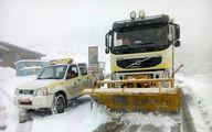 انسداد جادههای تهران-شمال/چهار فوتی در کولاک دیشب