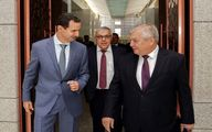 بشار اسد میزبان دو مقام روس