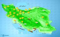 باد شدید و گرد و خاک در خوزستان و بوشهر