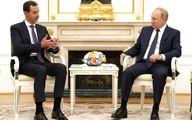 میزبانی پوتین از بشار اسد در سفر غیر منتظره