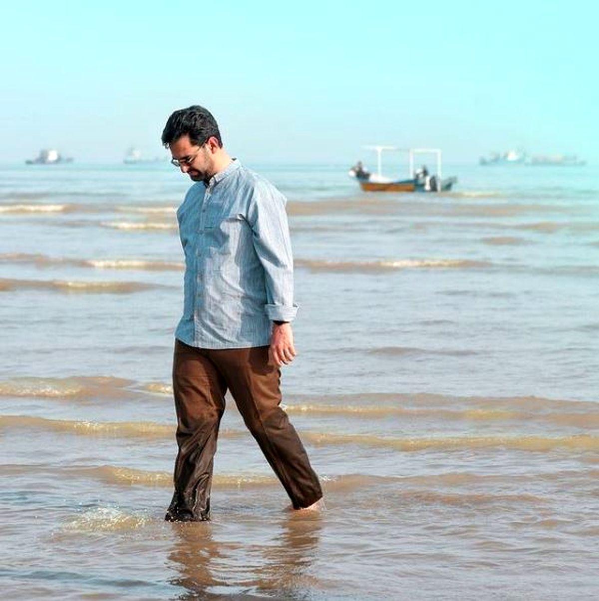 وقتی وزیر جوان دل به دریا می زند! +عکس