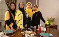 «شام ایرانی» اینبار مهمان خانه بازیگر خارجی +عکس