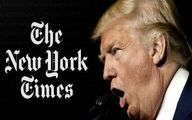 مطلب جنجالی نیویورکتایمز بالاخره ترامپ را به حرف آورد