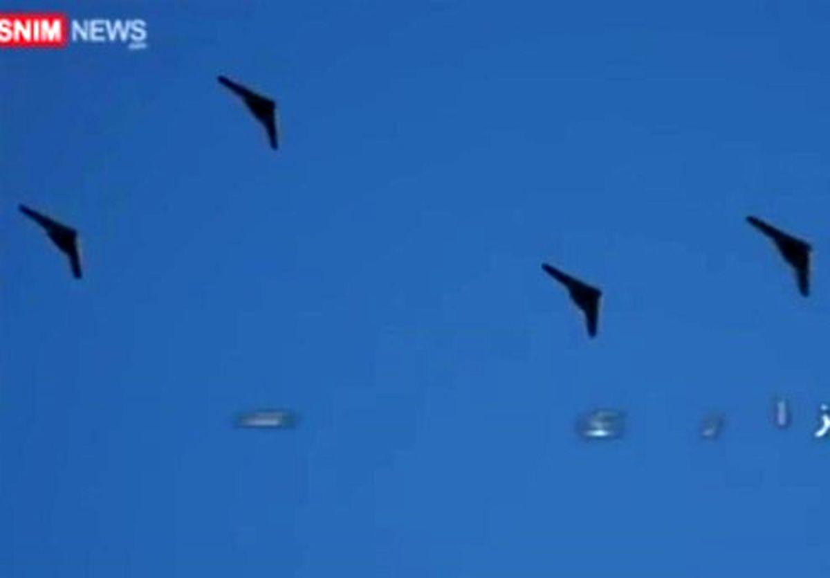 پرواز فوجی پهپادهای شاهد ۱۶۱ و ۱۴۱ در رزمایش سپاه +عکس