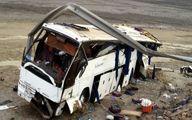 مصدومیت ۱۸ دانشآموز بر اثر واژگونی «مینی بوس»