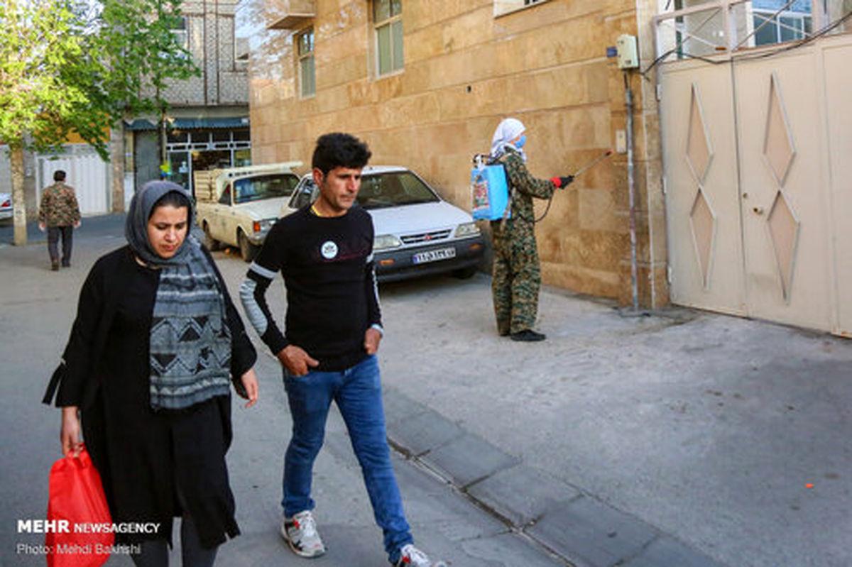 تصاویر: فعالیت جهادی «طلبه روسی» در قم