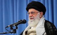 تصویری از ورود رهبر انقلاب به حسینیه امام خمینی(ره)