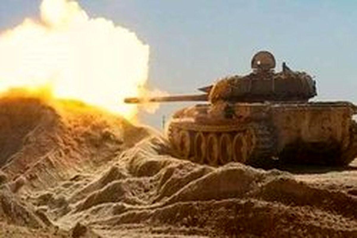 حملات سنگین ارتش سوریه به مواضع تروریستها در حماه