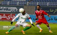 تصاویر: بازی جنجالی امروز لیگ برتر فوتبال