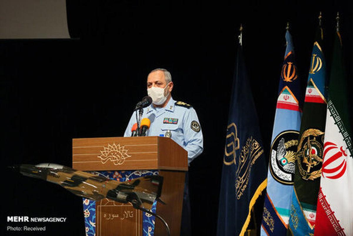 امیر نصیر زاده: «نهاجا» امنیت آسمان ایران را تأمین کرده است