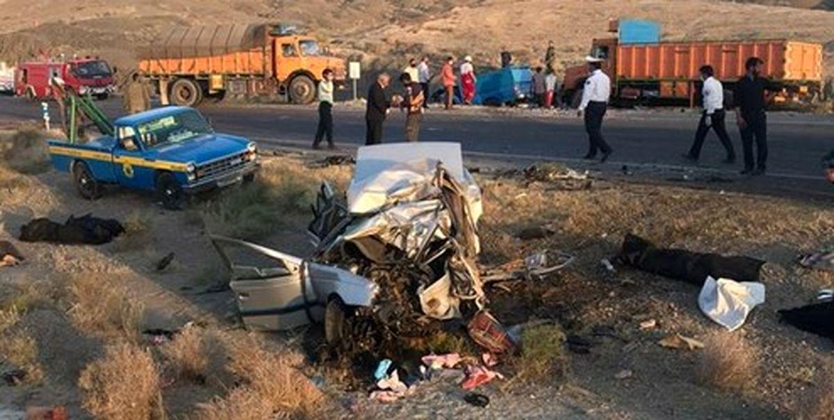 تصادفات جادهای در ایران دوباره صعودی شد