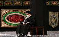 تصاویر: عزاداری شام شهادت حضرت زهرا(س) با حضور رهبر انقلاب