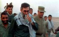 تصویری دیده نشده از رهبر معظم انقلاب در جبهه