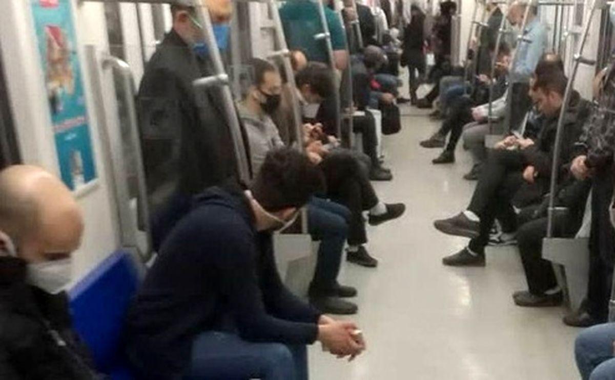 اینجا مترو نیویورک یا پاریس نیست؛ مترو تهران است +عکس