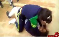 درگیری وحشتناک دو دختر دانش آموز سوژه شد +تصاویر