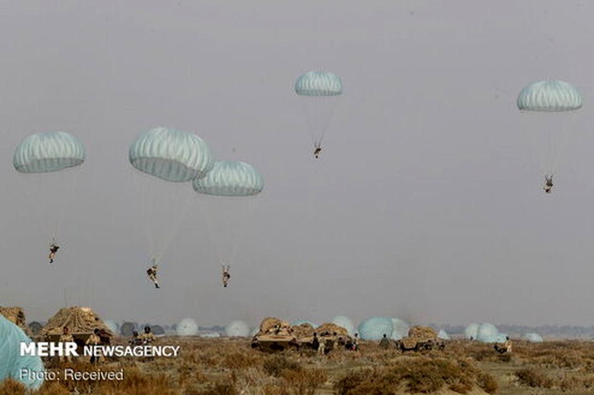 پایان رزمایش اقتدار ۹۹ نیروی زمینی ارتش