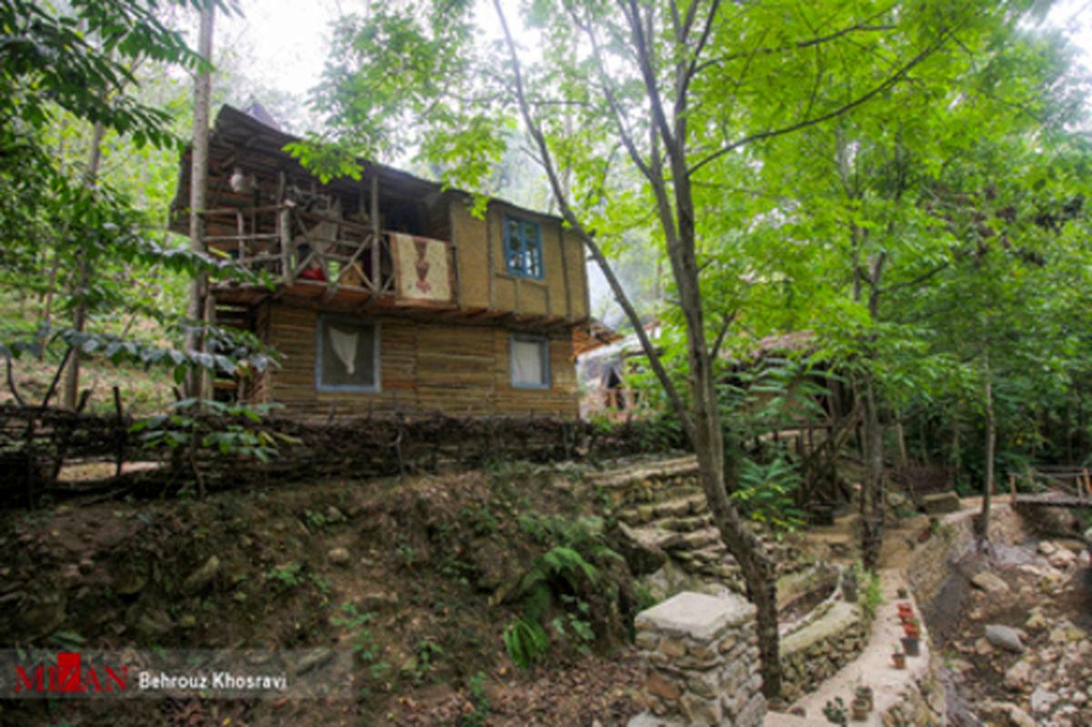 تصاویر: اقامتگاه بومگردی کومه در مازندران