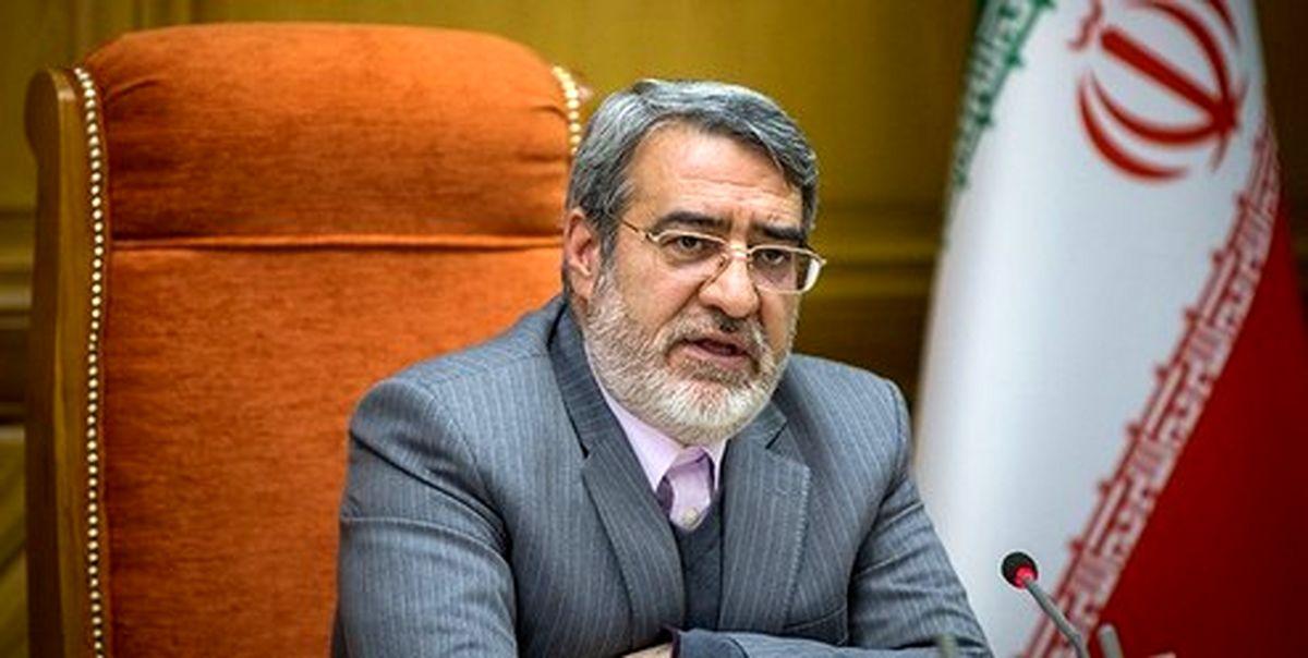 وزیر کشور: یک میلیون نفر در برگزاری انتخابات مسئولیت خواهند داشت