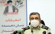 آمادگی پلیس برای تامین امنیت انتخابات