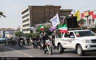 تصاویر: مراسم نمادین روز قدس در میدان انقلاب