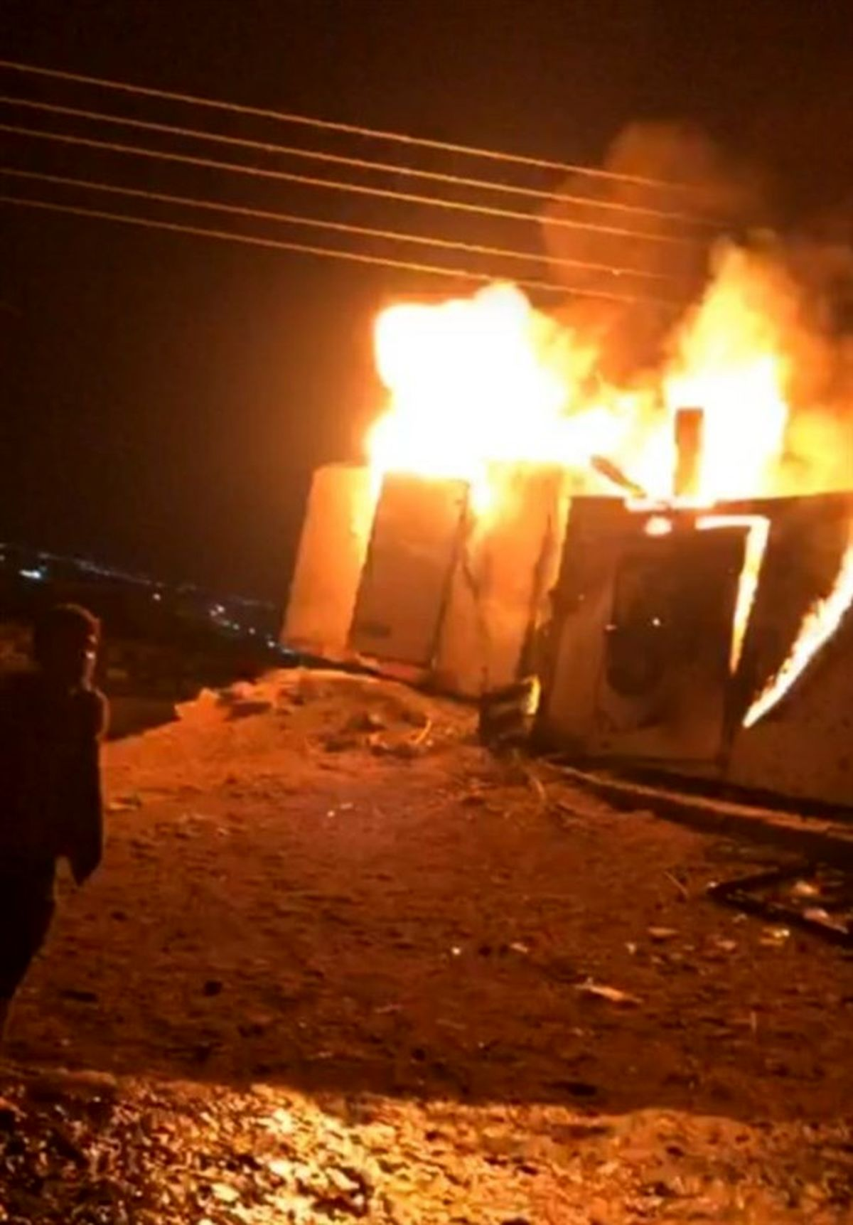 روایتهای جدید از حمله راکتی در شهر اربیل +تصاویر