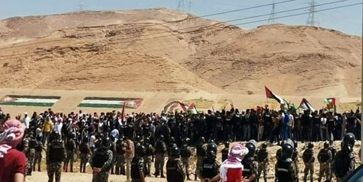 اردنیها برای حمایت از مقاومت عازم مرز فلسطین شدند