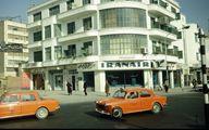 خودروهای خارجی در میدان فردوسی تهران سال 47 +عکس