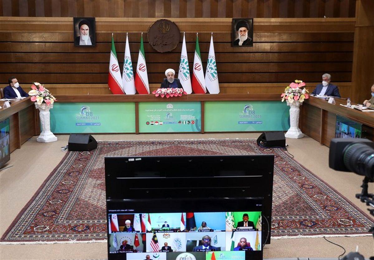 روحانی: آمریکا موظف است با لغو تحریمها و اتخاذ تدابیرعملی به برجام بازگردد