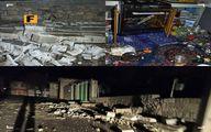 خسارات زلزله سیسخت +عکس