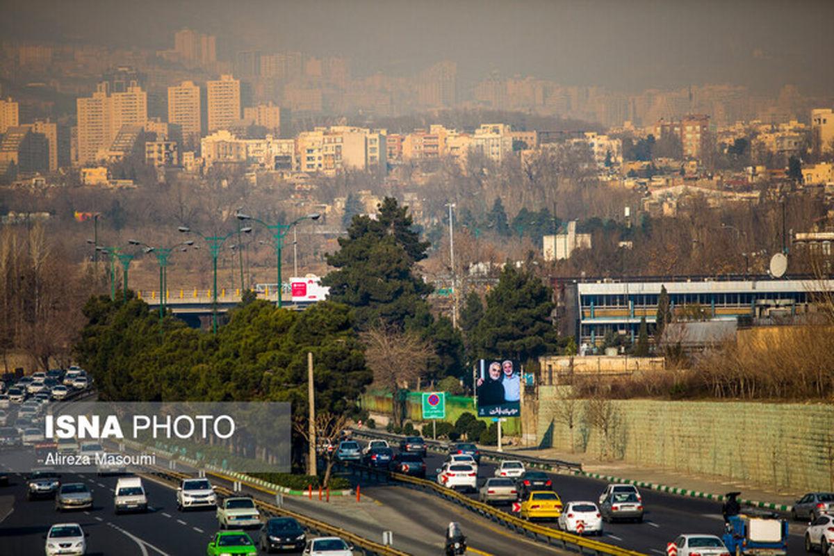 هوای تهران در محدوده قابل قبول