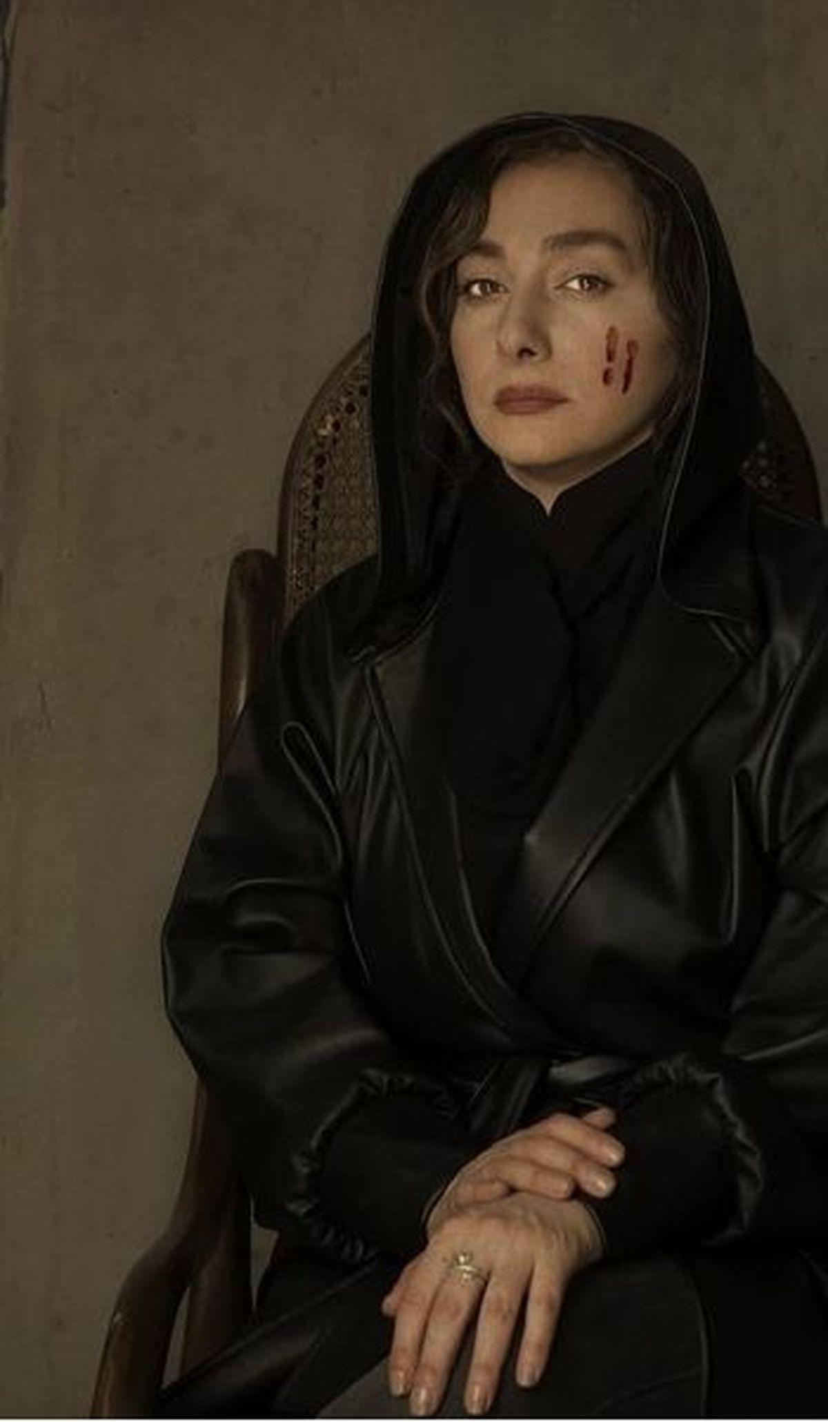 هانیه توسلی سکانس های سریال زخم کاری را لوداد