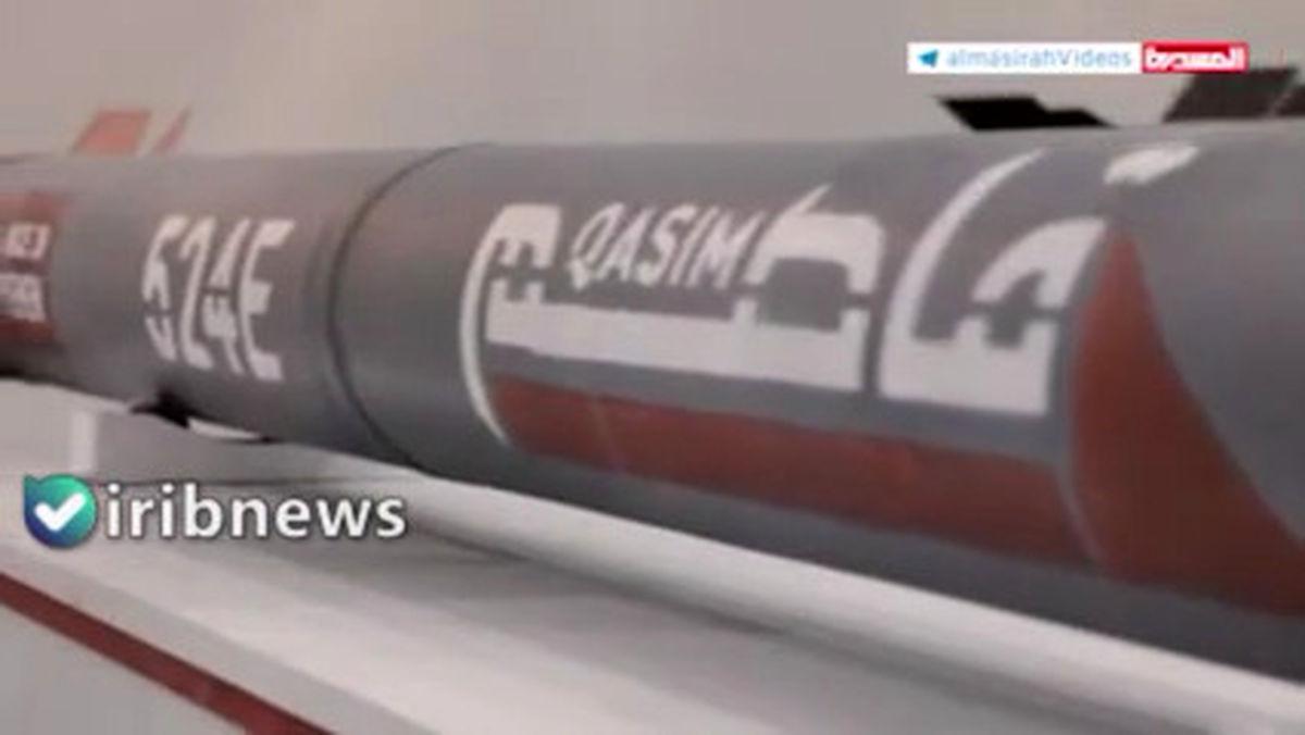 تصاویر موشک میان برد «قاصم1» مقاومت یمن