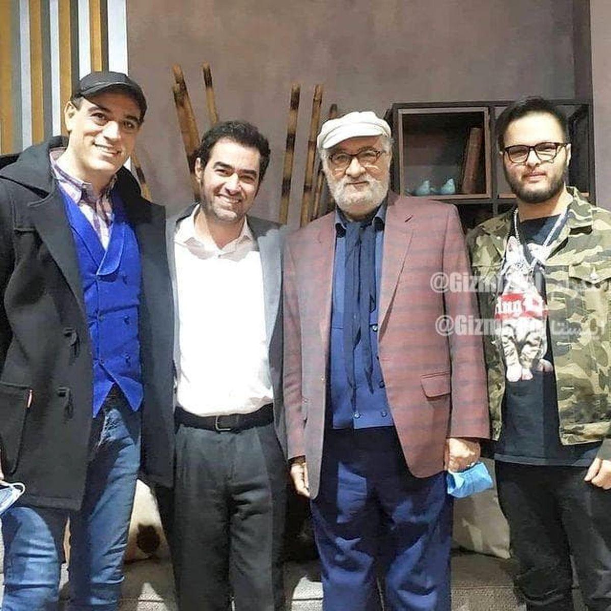 شهاب حسینی و داریوش ارجمند در کنار پسرانشان +عکس