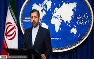 خطیبزاده: نامه ظریف به بورل حاوی هیچ طرحی نیست