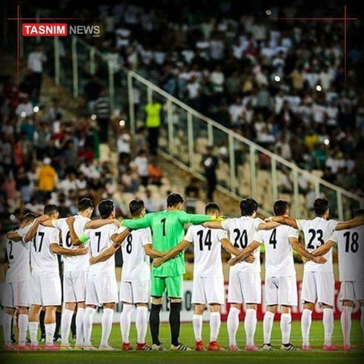 ترکیب تیم ملی ایران در دیدار تدارکاتی با سوریه