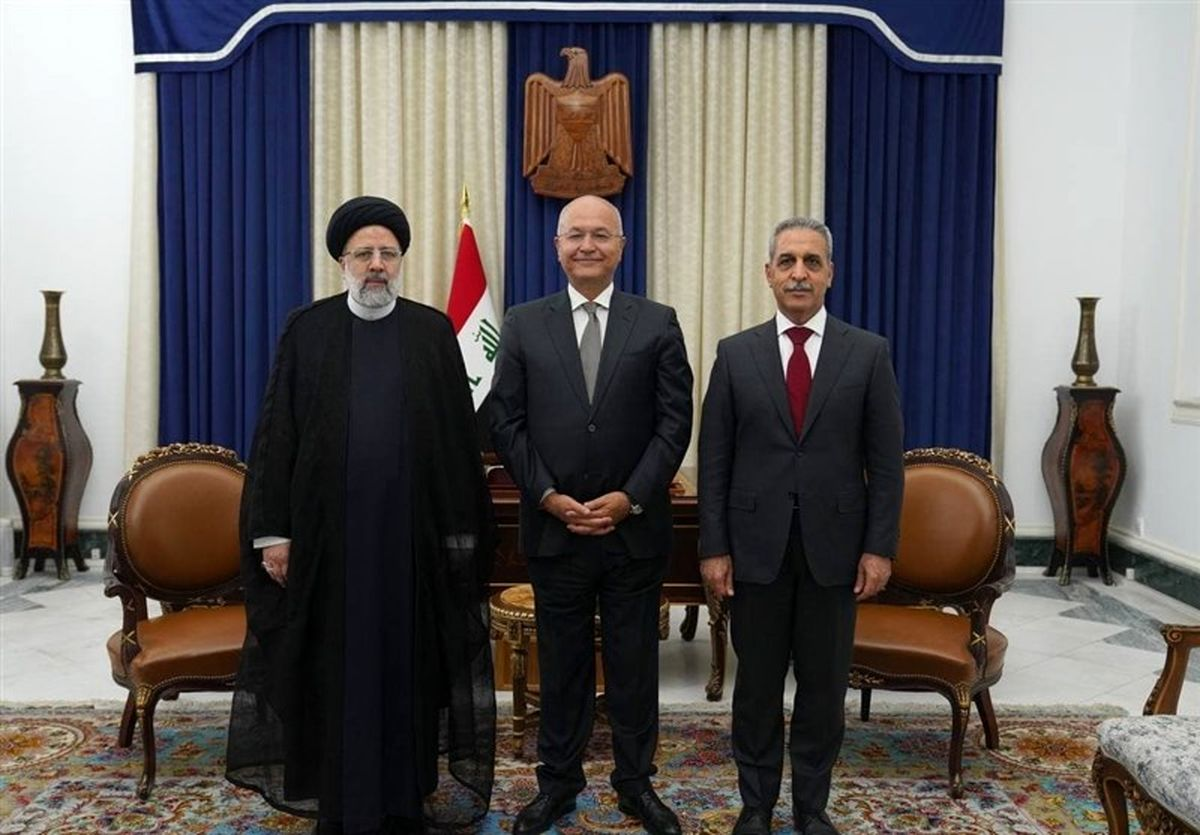 دیدار رئیس قوه قضائیه با برهم صالح +عکس