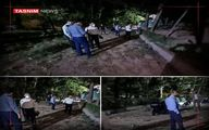گزارش عجیب و غریب صدا و سیما درباره صدای انفجار دیشب اطراف پارک ملت