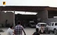 طوفان شدید در پارسیان هرمزگان +فیلم