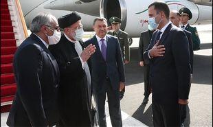تصاویر: استقبال از رئیسی در فرودگاه دوشنبه