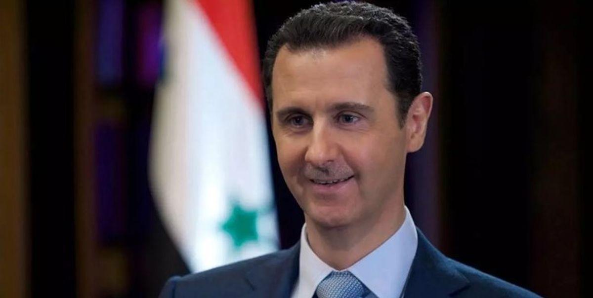 بشار اسد نامه نخست وزیر عراق را دریافت کرد