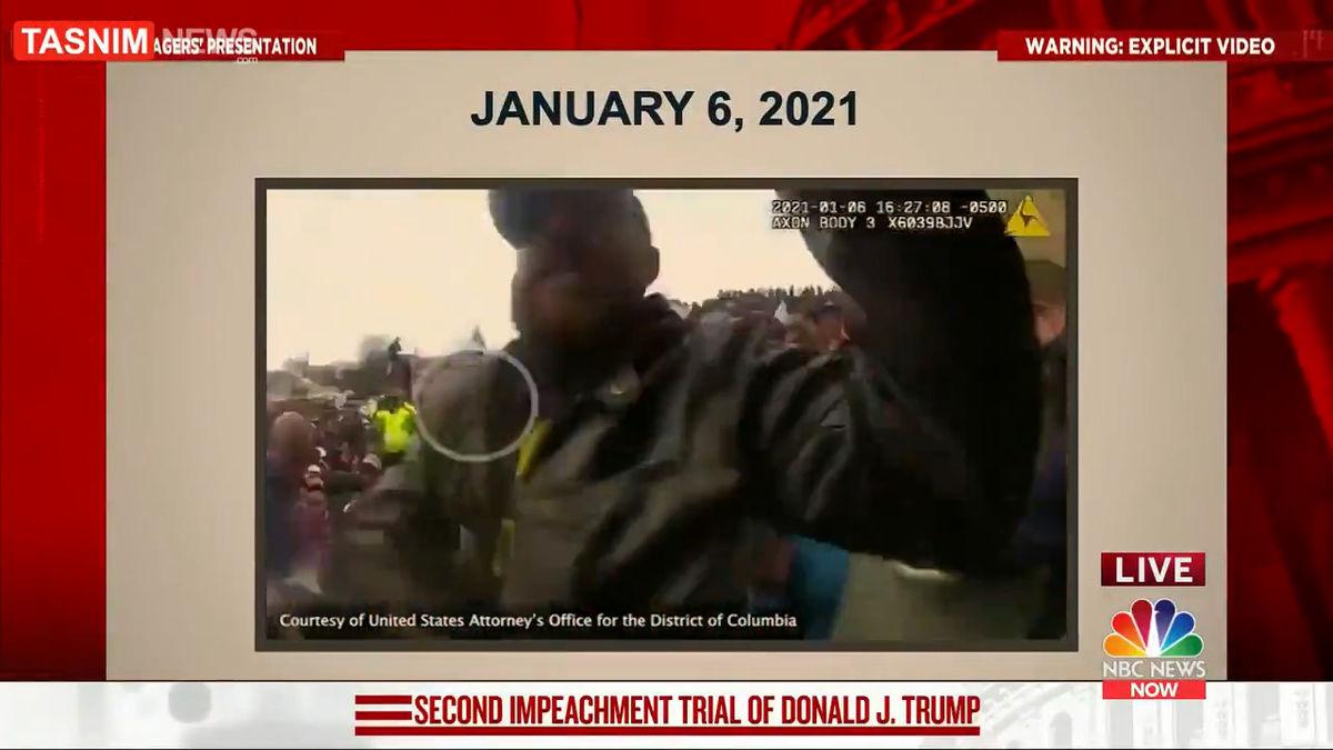 فیلم بهتآور  از حمله طرفداران ترامپ به کنگره
