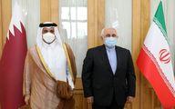 رایزنی وزیران خارجه ایران و قطر